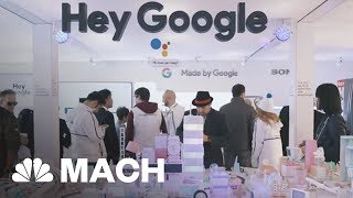 Google And Amazon's Smart Assistant Battle And Other Highlights From CES 2018 | Mach | NBC News thumbnail