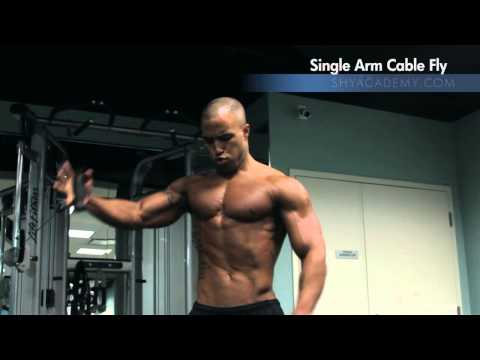 CHEST - Single Arm Cable Chest Fly