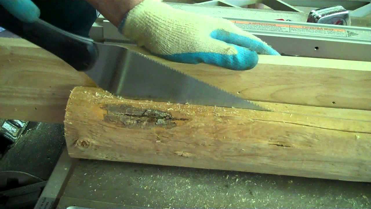 Rustic Log Picture Frames - How to DIY - YouTube