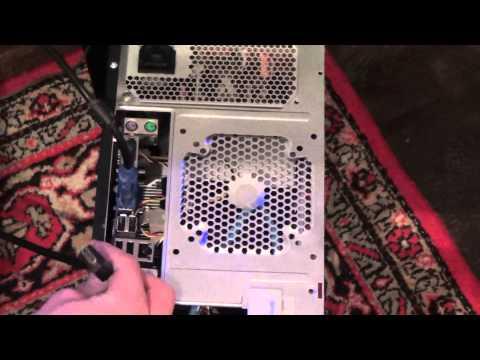 Как подключить питание, монитор, клавиатуру, колонки, мышку, микрофон к ПК компьютеру