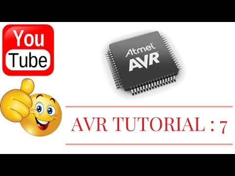 AVR TUTORIAL 7 : FOR LOOP AND BITWISE SHIFTING - 2017
