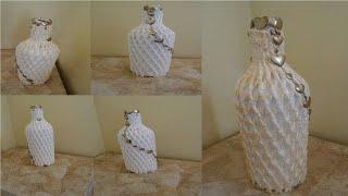 DIY- Reaproveitando Garrafa de Vidro para Decoração