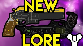NEW Destiny Lore: The Last Word and Thorn | Myelin Games