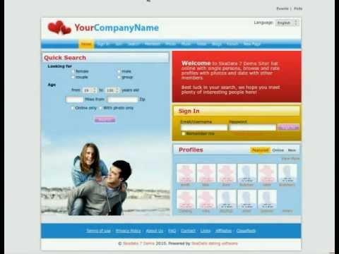 SkaDate Online Dating Software: Build Your Own Dating Site! from YouTube · Duration:  1 minutes 45 seconds