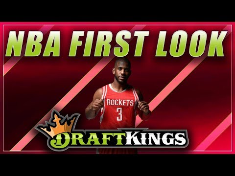 FRIDAY 10/26/18 NBA DFS: DRAFTKINGS NBA LINEUP PICKS: FIRST LOOK