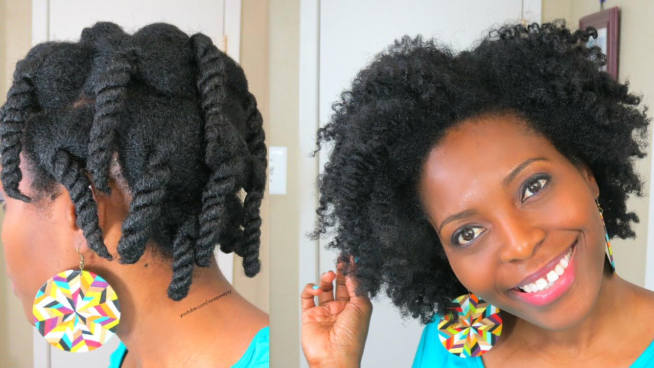 Pure Hair In a single day Twist Out
