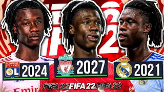 I Played the Career of EDUARDO CAMAVINGA... FIFA 22 Player Rewind (1st Rewind of FIFA 22 🤩)