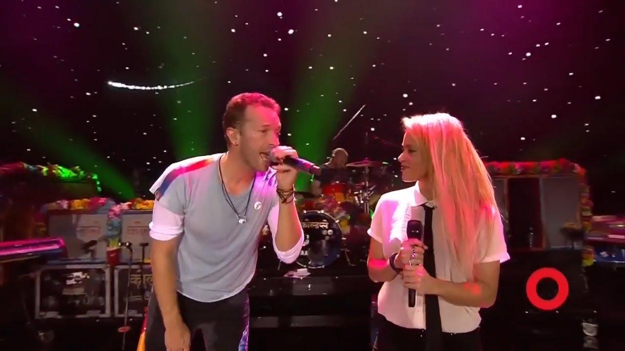 Coldplay & Shakira A Sky Full of Stars   Live at Global Citizen Festival Hamburg