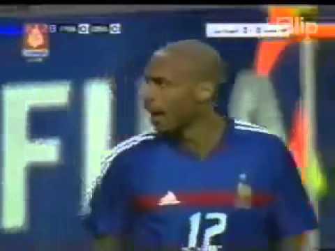 Đua tốc độ, Thierry Henry 'hạ gục' Roberto Carlos