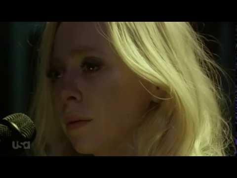"Angela Moss (Portia Doubleday) - karaoke version of ""Everybody Wants to Rule the World"""