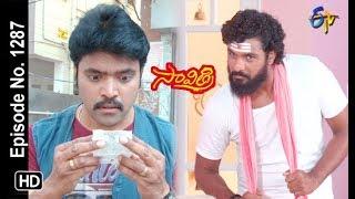 Savithri | 21st  May 2019 | Full Episode No 1287 | ETV Telugu
