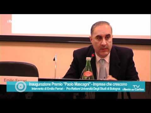 """Inaugurazione Premio """"Paolo Mascagni""""  Intervento di Emilio Ferrari"""