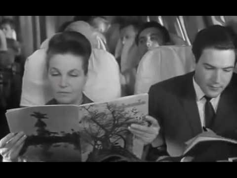 Мирей Матье в фильме Сергея Герасимова «Журналист» (1967 год)