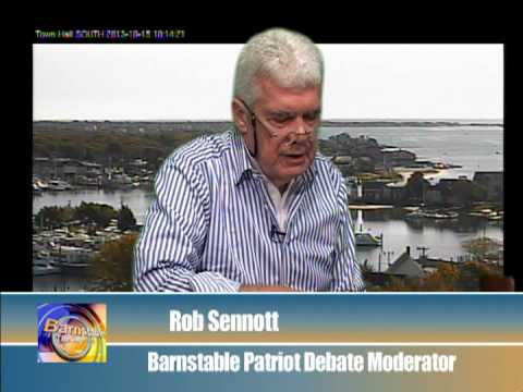 Interview with Rob Sennott on the Barnstable Patriot Debates