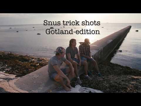 Snus Trick Shots- Gotland-edition