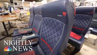It's An Aviation Enthusiast's Dream: Bringing A Piece Of An Airplane Home | NBC Nightly News