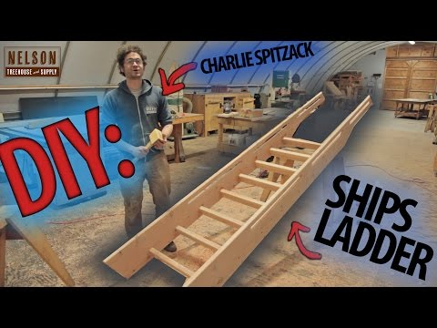 DIY: How to build a Ships Ladder