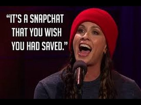 Alanis Morissette Updates 'Ironic' Lyrics