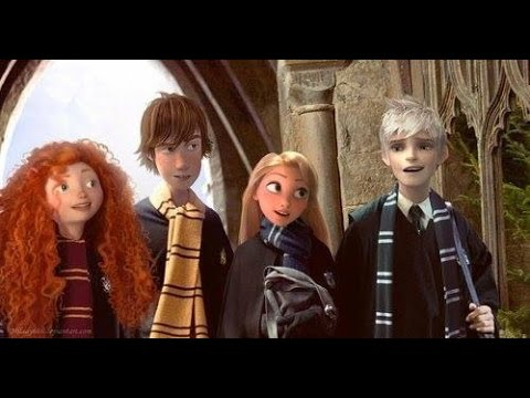 The Big Four (and Frozen?) in Hogwarts