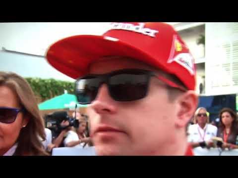 F1 2017 Mexico GP Kimi Raikkonen post race reaction
