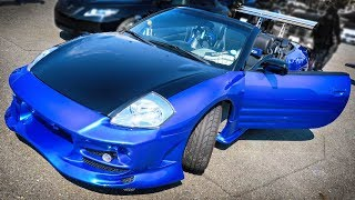 MITSUBISHI ECLIPSE NOS System Custom Car 三菱 エクリプス スパイダー D53A型