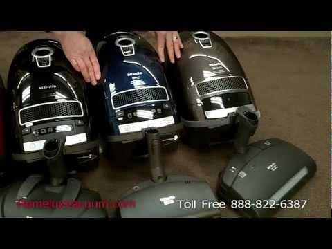 Miele C3 Marin, Brilliant & Kona Vacuum Review & Comparison - Miele Vacuums in San Diego, Encinitas