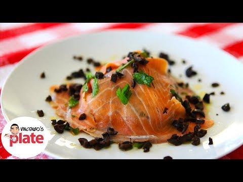SMOKED SALMON SALAD | Smoked Salmon Recipe | The most Delicious Healthy Recipe