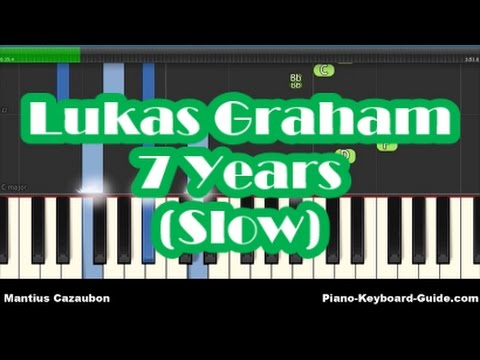 Lukas Graham - 7 Years Slow Piano Tutorial - How To Play - Easy Chords & Melody