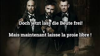 Lass' die Beute frei - Paroles + Traduction (Allemand/Français)