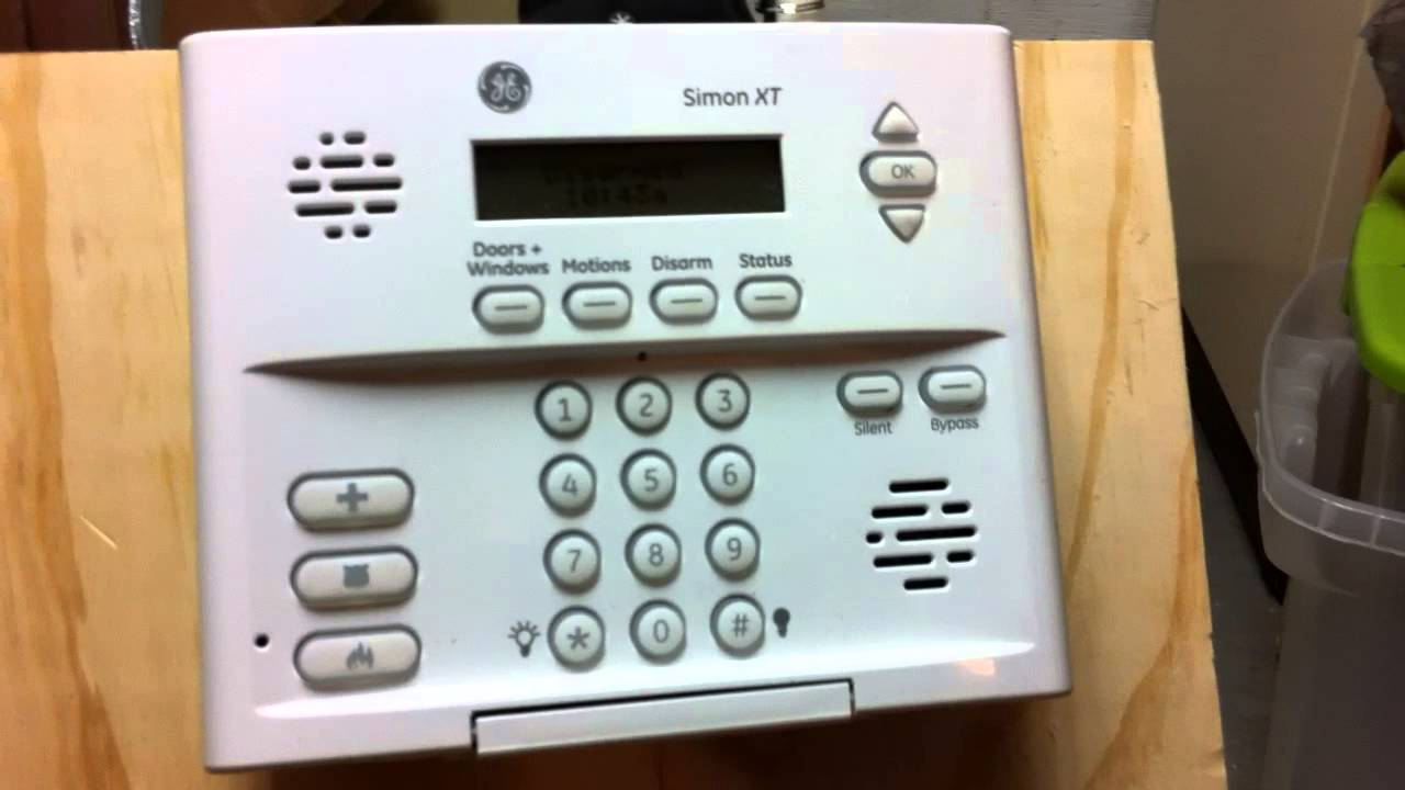 Running A Ge Simon 3 Or Xt Alarm System Off A 12 Volt