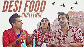 DESI FOOD Challenge | Rimorav Vlogs