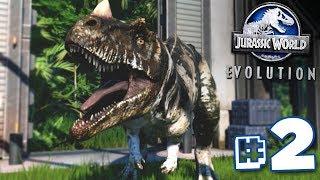 BRUTON RETURNS!!! - Jurassic World Evolution - HARD CHALLENGE MODE | Ep2 HD