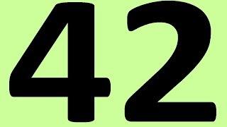 АНГЛИЙСКИЙ ЯЗЫК ДО АВТОМАТИЗМА ЧАСТЬ 2 УРОК 42 УРОКИ АНГЛИЙСКОГО ЯЗЫКА