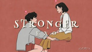 EXO - Stronger Lyrics Sub Indo