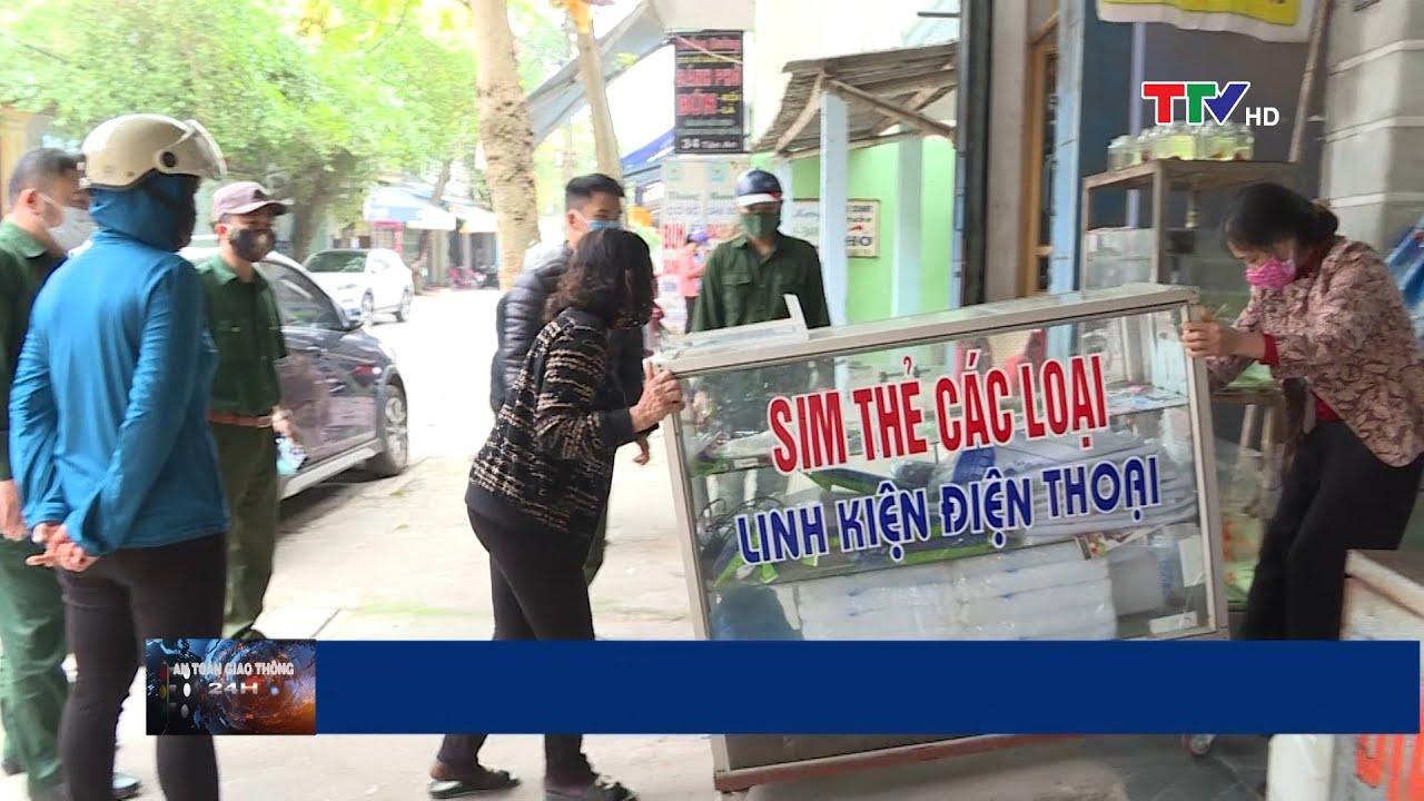 Thực hiện xóa bỏ toàn bộ chợ cóc, chợ tạm trên địa bàn thành phố Thanh Hóa | PTTH Thanh Hóa