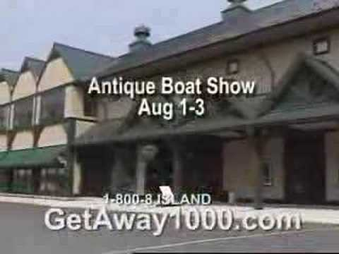 Visit the 1000 Islands: Clayton NY & The Antique Boat Museum