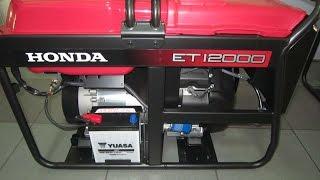Хонда/Honda ET 12000 трехфазный бензиновый генератор(, 2016-04-19T11:07:46.000Z)