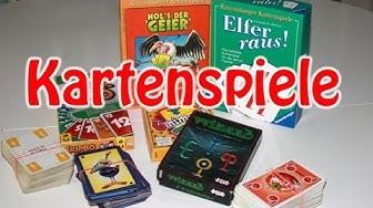 Empfehlenswerte Kartenspiele