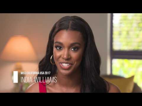 Meet Miss California USA 2017 India Williams