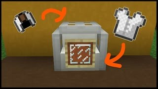 👉Minecraft Pocket Edition : How to build a Washing Machine
