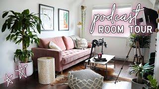 Podcast Room Tour   Office | Samantha Ravndahl