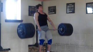 205kg Clean @92kg