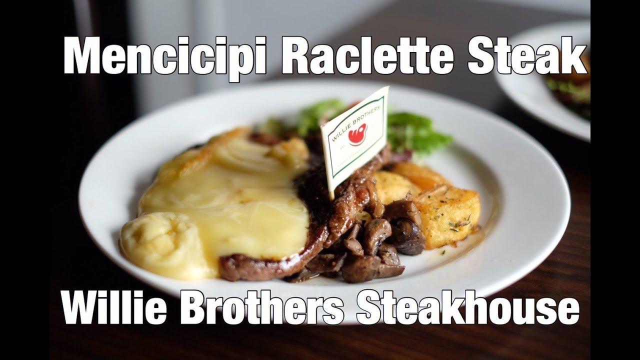 Raclette Steak Steak Dengan Lelehan Keju CK Stuff