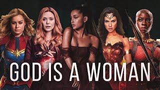 GOD IS A WOMAN | CINEMATIC VERSION (MARVEL/DC WOMEN EDIT)