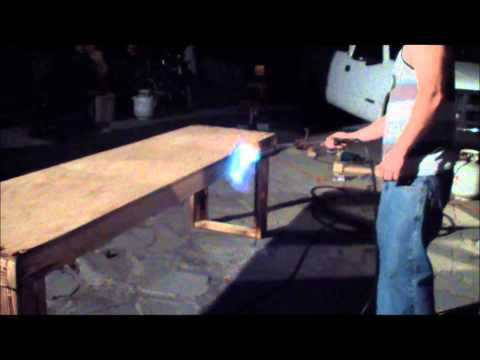 wood burnning