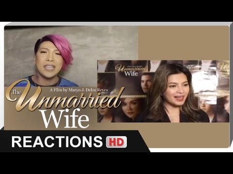 Reactions - Angel Locsin, Vice Ganda - 'The Unmarried Wife' - 동영상