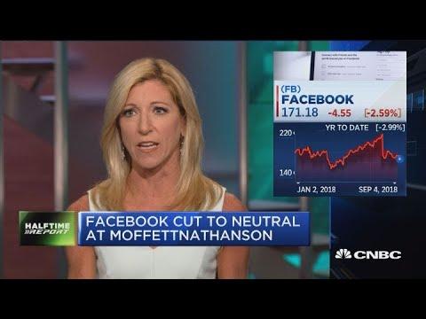 MoffettNathanson cuts Facebook to neutral