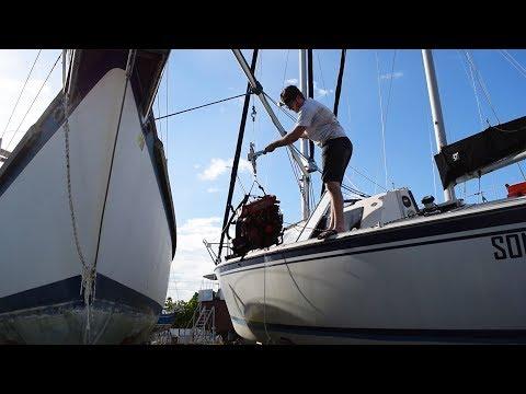 30. We Removed Our Diesel Engine! - Sailing Vessel Somnium