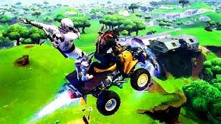 FORTNITE: Quadcrasher New Vehicle Trailer (2018)