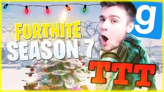 ❄️ NOWY SEZON 7 W FORTNITE | Garry's mod [#848] - TTT [#181] (With: EKIPA) #BLADII